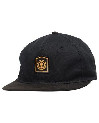 1 Noble Hat Black MAHTVENO Element