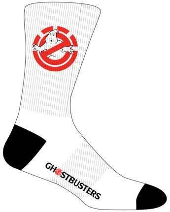3 Ghostbusters Socks White MASK3EGB Element