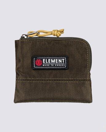 0 Camper Zippered Coin Pouch Green MAWT3ECA Element