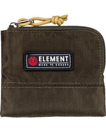 2 Camper Zippered Coin Pouch Green MAWT3ECA Element