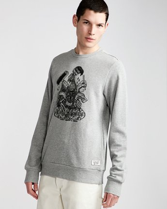 By Hand Crew - Fleece for Men  N1CRB4ELP9