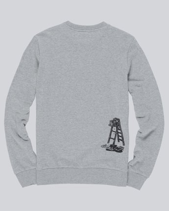4 Spilt Crew - Fleece for Men Grey N1CRB6ELP9 Element