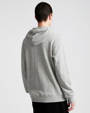 2 Glimpse Icon Ho - Fleece for Men Grey N1HOA7ELP9 Element