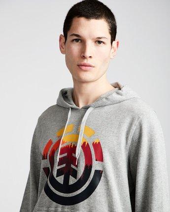 1 Glimpse Icon Ho - Fleece for Men Grey N1HOA7ELP9 Element