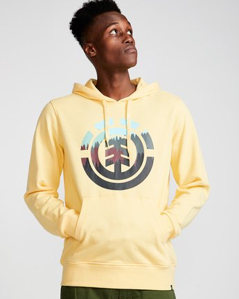 0 Glimpse Icon Ho - Fleece for Men Yellow N1HOA7ELP9 Element