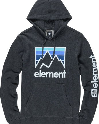 4 Joint Ho - Fleece for Men Grey N1HOA8ELP9 Element