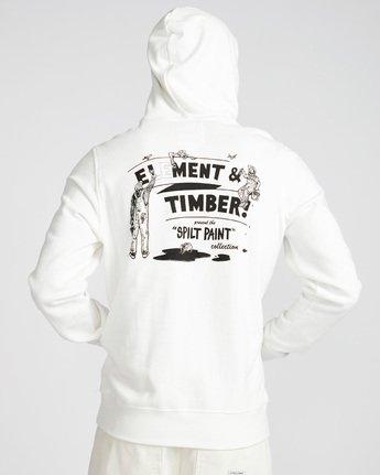 2 Crew Ho - Fleece for Men White N1HOB7ELP9 Element