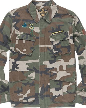 5 Kershnar Shirt Jkt - Jacket for Men Camo N1JKB1ELP9 Element