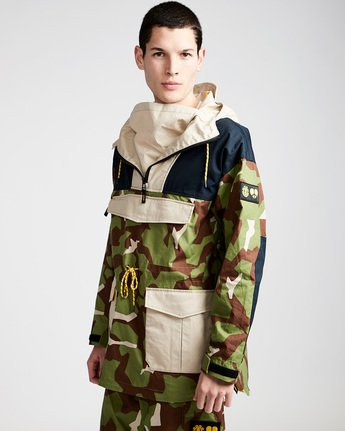 0 Griffin Smock - Jacket for Men Camo N1JKB9ELP9 Element