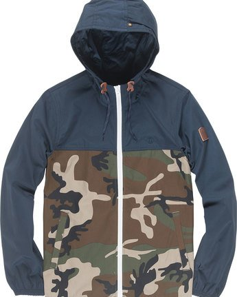 4 Alder Light 2 Tones - Jacket for Men Camo N1JKC2ELP9 Element