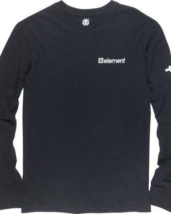 5 Joint Ls - Tee Shirt for Men Black N1LSA4ELP9 Element