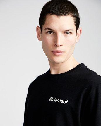 1 Joint Ls - Tee Shirt for Men Black N1LSA4ELP9 Element