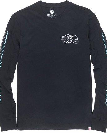 6 Roam Ls - Tee Shirt for Men  N1LSA5ELP9 Element