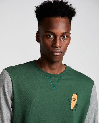 1 Yawyd Healthy 3/4 Te - Tee Shirt for Men Green N1LSA6ELP9 Element