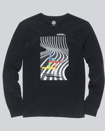 3 Pushing Dude Ls - Tee Shirt for Men Black N1LSA7ELP9 Element