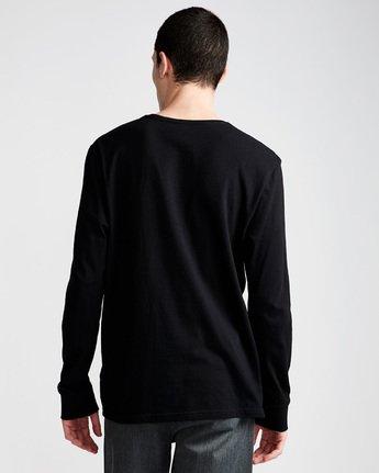 2 Pushing Dude Ls - Tee Shirt for Men Black N1LSA7ELP9 Element
