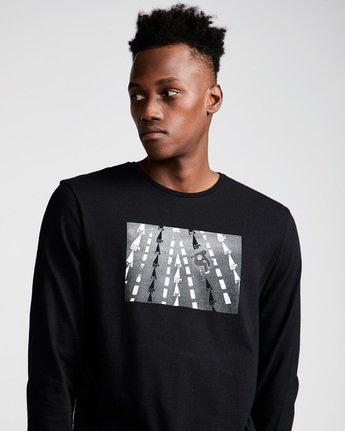 1 Nassim Ls - Tee Shirt for Men Black N1LSA8ELP9 Element