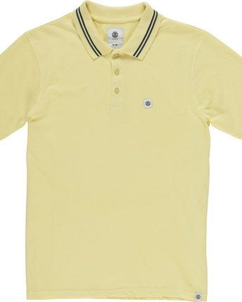 4 Pasco - Polo for Men Jaune N1PPA1ELP9 Element