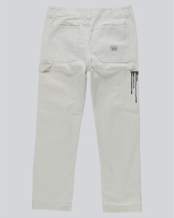 1 Timber Staff Pant - trousers for Men White N1PTA4ELP9 Element