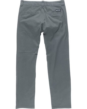 7 Sawyer - Trousers for Men Grey N1PTA8ELP9 Element