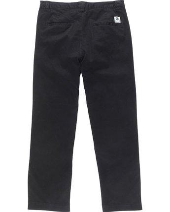 7 Matthews Chino - trousers for Men Black N1PTA9ELP9 Element