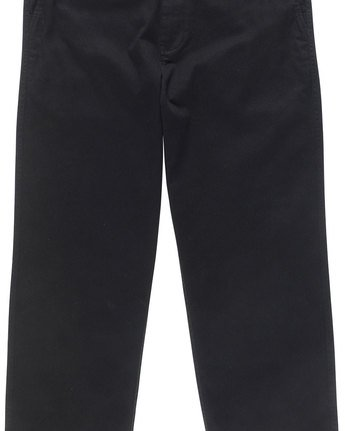 6 Matthews Chino - trousers for Men Black N1PTA9ELP9 Element