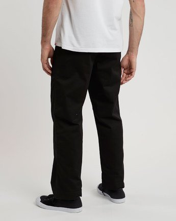 3 Matthews Chino - trousers for Men Black N1PTA9ELP9 Element