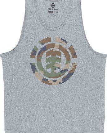 4 Foundation Icon Tank - Tee Shirt for Men Grey N1SGA1ELP9 Element
