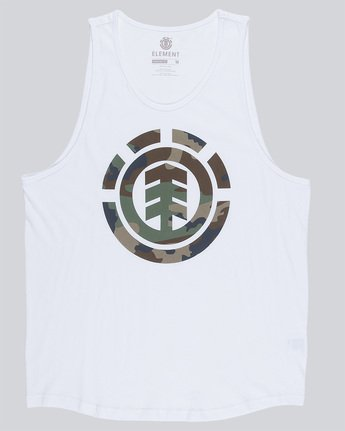 3 Foundation Icon Tank - Tee Shirt for Men White N1SGA1ELP9 Element