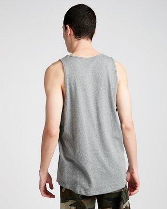 2 Foundation Icon Tank - Tee Shirt for Men Grey N1SGA1ELP9 Element