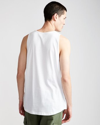2 Foundation Icon Tank - Tee Shirt for Men White N1SGA1ELP9 Element