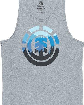 4 Glimpse Icon Tank - Tee Shirt for Men Grey N1SGA2ELP9 Element