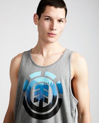 1 Glimpse Icon Tank - Tee Shirt for Men Grey N1SGA2ELP9 Element