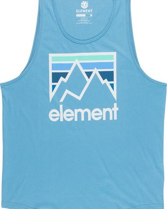 4 Joint Tank - Tee Shirt for Men Blue N1SGA5ELP9 Element