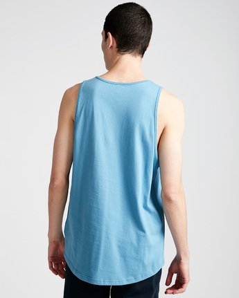 2 Joint Tank - Tee Shirt for Men Blue N1SGA5ELP9 Element
