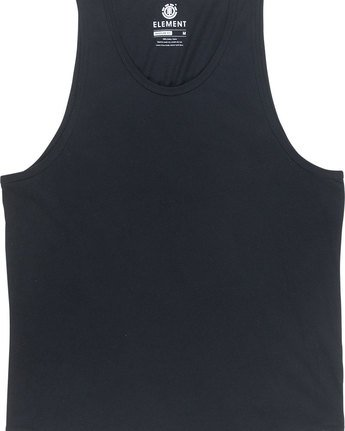 1 Basic Tank - Tee Shirt for Men Black N1SGA6ELP9 Element
