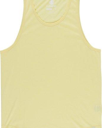 4 Basic - Vest for Men Yellow N1SGA6ELP9 Element
