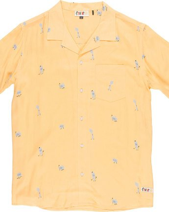 4 Yawyd Ss - Shirt for Men Yellow N1SHA6ELP9 Element