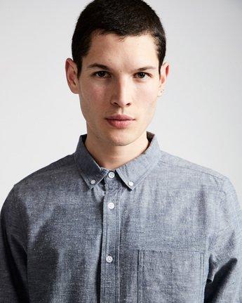1 Greene Neps Ls - Shirt for Men Blue N1SHA9ELP9 Element
