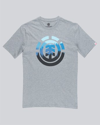 3 Glimpse Icon Ss - Tee Shirt for Men Grey N1SSA4ELP9 Element