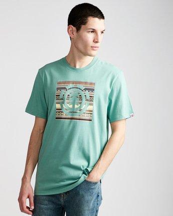 Indiana Logo Block S - Tee Shirt for Men  N1SSA5ELP9