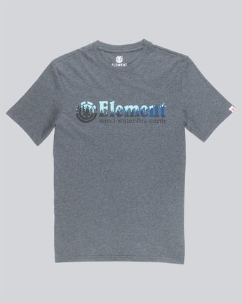 3 Glimpse Horizontal S - Tee Shirt for Men Grey N1SSA7ELP9 Element