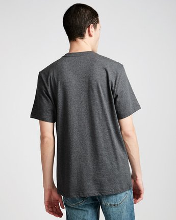 2 Glimpse Horizontal S - Tee Shirt for Men Grey N1SSA7ELP9 Element