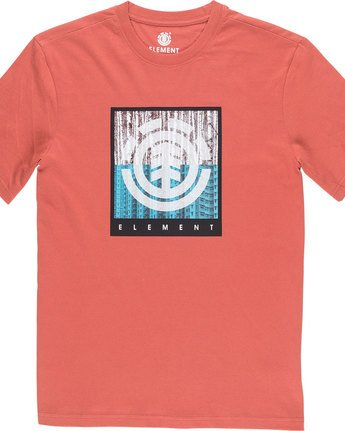 4 Density Ss - Tee Shirt for Men Red N1SSA8ELP9 Element
