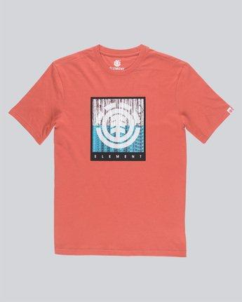 3 Density Ss - Tee Shirt for Men Red N1SSA8ELP9 Element