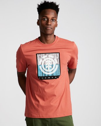 0 Density Ss - Tee Shirt for Men Red N1SSA8ELP9 Element