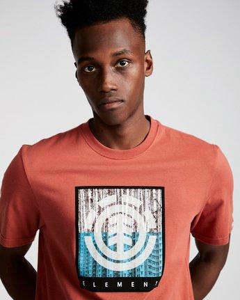 1 Density Ss - Tee Shirt for Men Red N1SSA8ELP9 Element