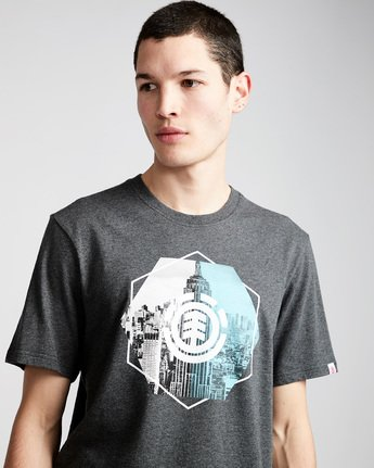 1 Rotation Ss - Tee Shirt for Men Grey N1SSA9ELP9 Element