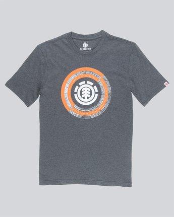 3 Iris Ss - Tee Shirt for Men Grey N1SSB2ELP9 Element