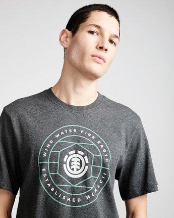 1 Swivel Ss - Tee Shirt for Men Grey N1SSB3ELP9 Element